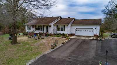 Calloway County Single Family Home For Sale: 158 Kelzie Peeler Road