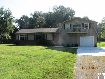 Paducah Single Family Home For Sale: 4580 Oaks Rd