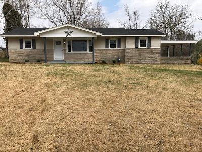 Benton Single Family Home For Sale: 6764 Us Hwy 68 W
