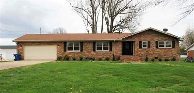 Paducah Single Family Home Contract Recd - See Rmrks: 140 Theobald Lane