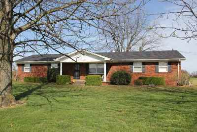 Melber Single Family Home For Sale: 7738 St. Rt. 945