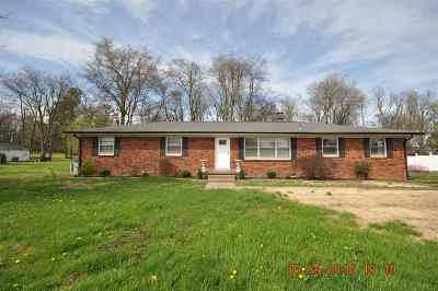 Paducah KY Single Family Home For Sale: $168,500