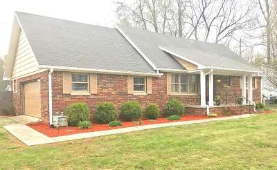 Paducah KY Single Family Home For Sale: $144,000