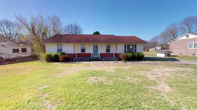 Murray KY Single Family Home For Sale: $124,900