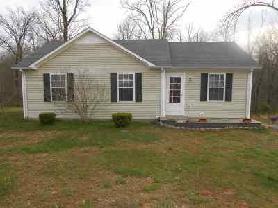 Cadiz KY Single Family Home For Sale: $85,000