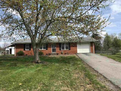 Calvert City Single Family Home For Sale: 2875 Us Hwy 95