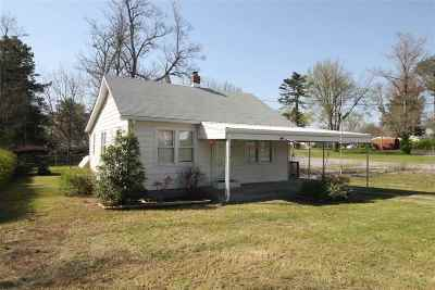 Paducah Single Family Home For Sale: 3581 Clinton Road