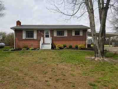 Benton Single Family Home For Sale: 226 Oak Grove Church Road