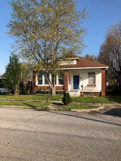 Paducah Single Family Home For Sale: 1227 Monroe