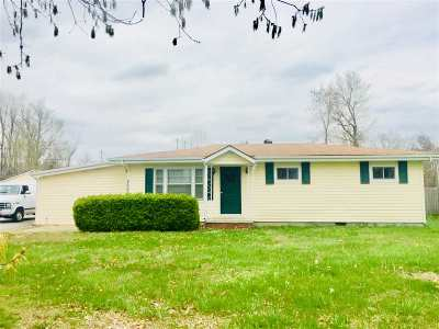 Paducah Single Family Home For Sale: 2622 Hovekamp Road