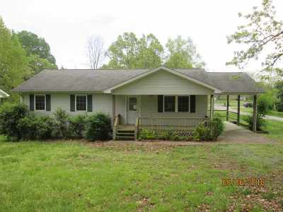 Cadiz KY Single Family Home For Sale: $87,900