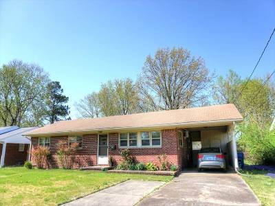 Murray Single Family Home For Sale: 1654 Ryan Ave