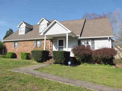Benton Single Family Home For Sale: 101 Hickory Hill