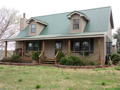 Wingo KY Single Family Home For Sale: $165,000