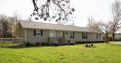Paducah Single Family Home For Sale: 952 Lovelaceville Florence Station E