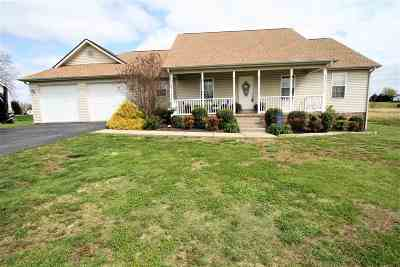 Calvert City Single Family Home For Sale: 173 Hunters Lane