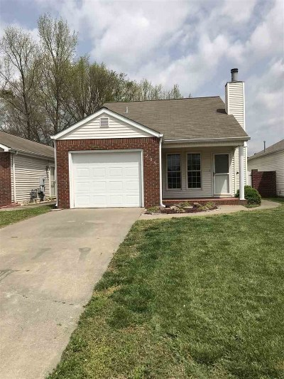 Murray Single Family Home For Sale: 406 Chantilly