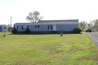 Murray Manufactured Home For Sale: 125 Seth Lane