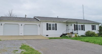 Kuttawa Single Family Home For Sale: 3823 St Rt 93 N