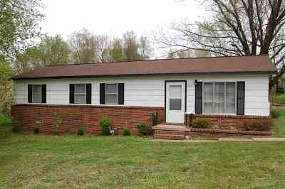 Paducah KY Single Family Home Contract Recd - See Rmrks: $84,900