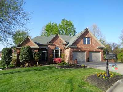 Paducah Single Family Home For Sale: 220 Kingsley Chase