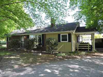 Hazel Single Family Home Contract Recd - See Rmrks: 1592 Calvin Wilson Road
