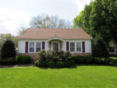 Calloway County Single Family Home For Sale: 300 First Street