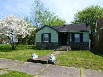 Paducah Single Family Home For Sale: 1110 Monroe