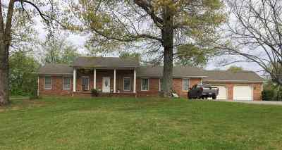 Paducah Single Family Home Contract Recd - See Rmrks: 5655 Lovelaceville Road