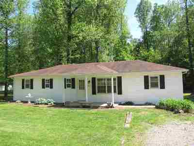 Kuttawa KY Single Family Home Contract Recd - See Rmrks: $99,900
