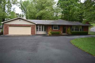 Gilbertsville KY Single Family Home Contract Recd - See Rmrks: $137,500