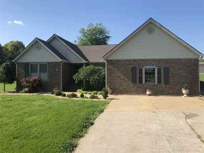 Benton Single Family Home For Sale: 423 Dunnigan