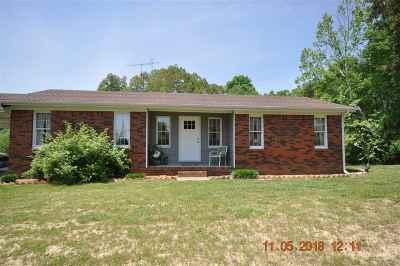 Benton Single Family Home For Sale: 6872 Jackson School Rd