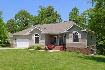 Eddyville Single Family Home For Sale: 65 Kelsey Joe Ln.