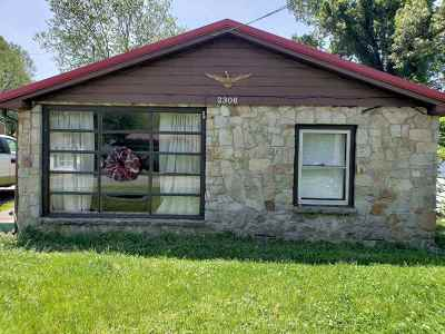 McCracken County Single Family Home Contract Recd - See Rmrks: 2306 Beiderman St