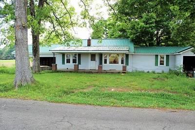 Benton Single Family Home For Sale: 1827 Dunn Cemetery Rd