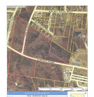 Paducah Residential Lots & Land Contract Recd - See Rmrks: Elmdale Road