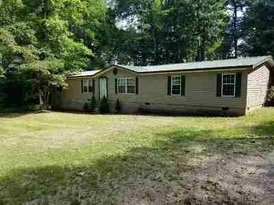 Benton Single Family Home For Sale: 2197 Wadesboro Rd N