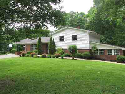 Calvert City KY Single Family Home Contract Recd - See Rmrks: $198,000