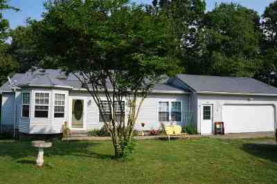 Calloway County Single Family Home For Sale: 1354 McElrath Road