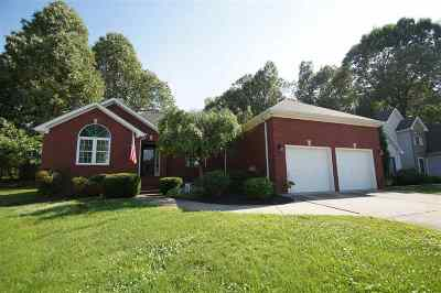 Paducah Single Family Home For Sale: 951 Aspen Way