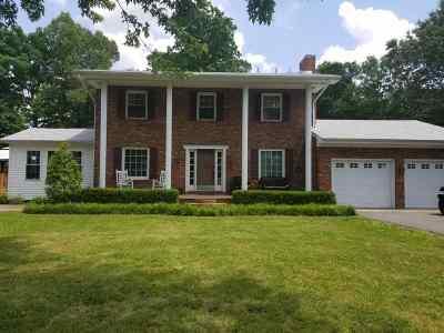 Paducah Single Family Home For Sale: 160 Terrace Lane