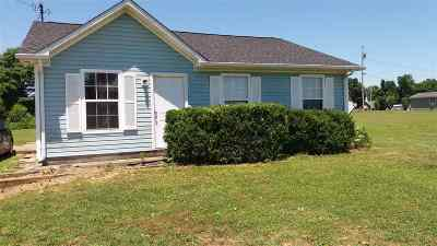 Herndon KY Single Family Home For Sale: $72,000