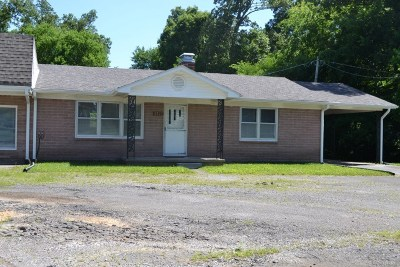 Benton KY Single Family Home For Sale: $125,000