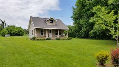 Graves County Single Family Home For Sale: 3431 State Route 1684