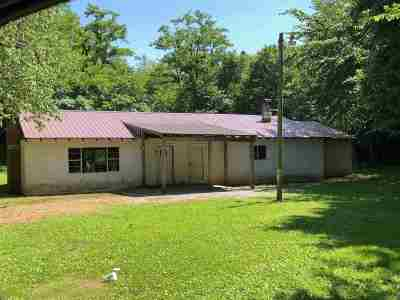 Graves County Single Family Home For Sale: 2971 Dave Miller Road