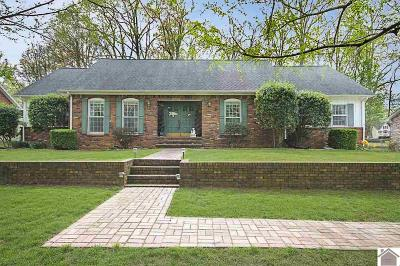Murray Single Family Home For Sale: 1202 Dogwood