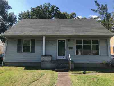 Paducah Single Family Home For Sale: 2533 Harrison St