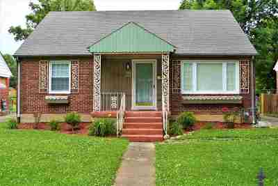 Paducah Single Family Home For Sale: 2557 Harrison Street