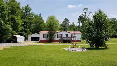 Gilbertsville Manufactured Home Contract Recd - See Rmrks: 4005 Tatumsville Hwy